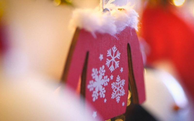 Елочная игрушка, снежинки