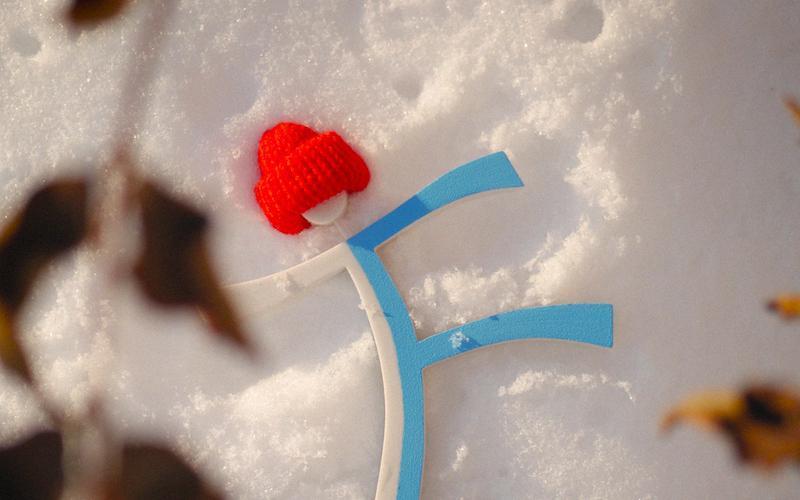 Тритфилд на снегу