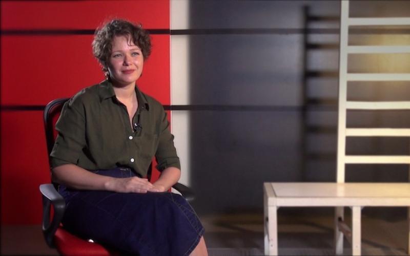 Вікторія Бєлік - психолог, гештальт-терапевт. Відое візитка.