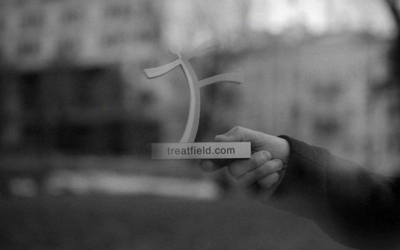 Тритфилд, витрина