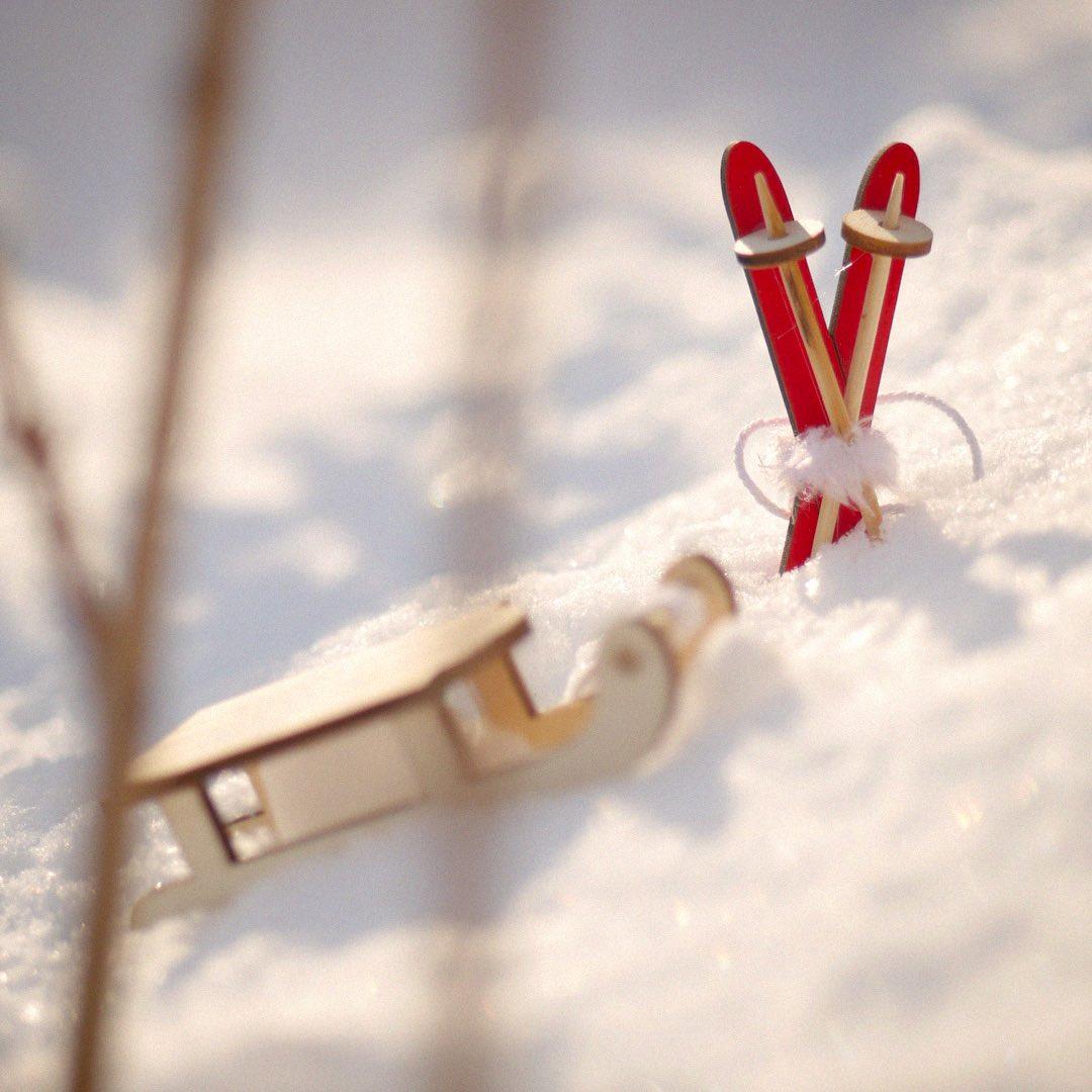 санки снег, новогодняя депрессия