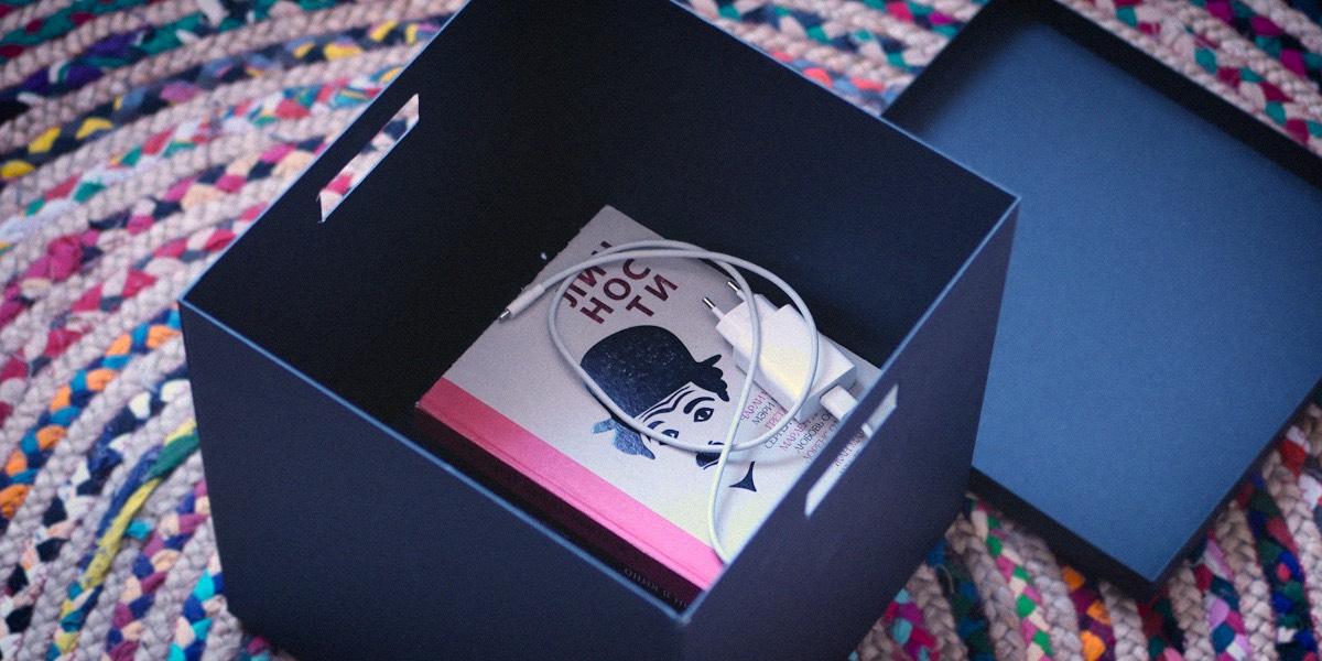 Книжка в коробке