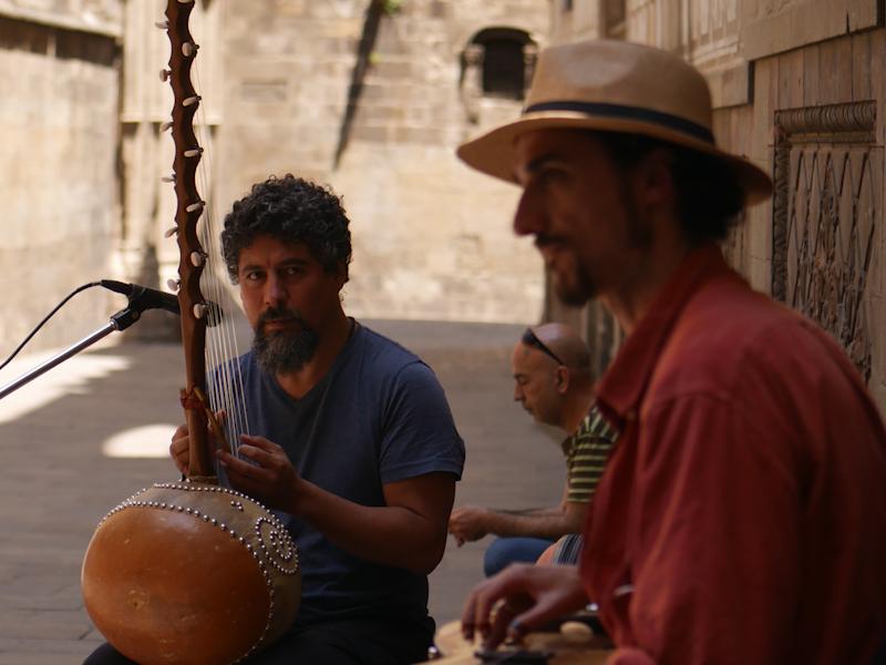 Барселона, музыканты