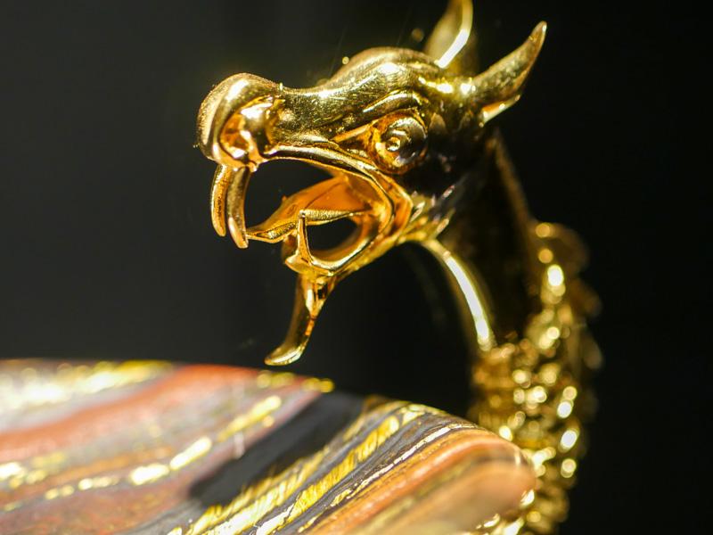 Золотой дракон - нарциссизм