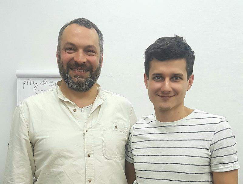 Ян Рубал и Антон Федорец