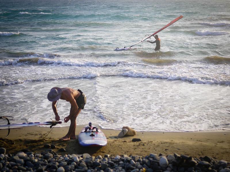 Море, серфинг